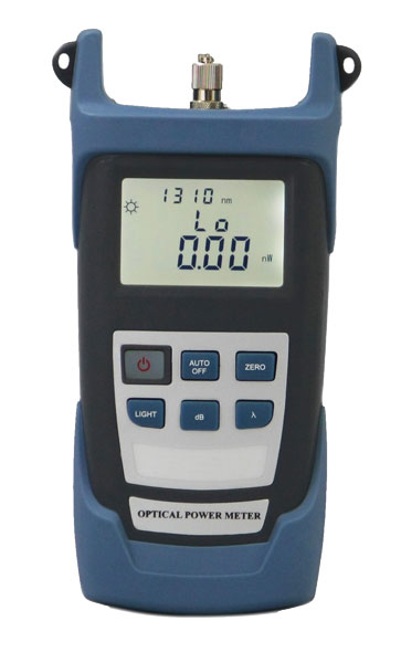 Optical Ports For Meters : Optical power meter portable fiber